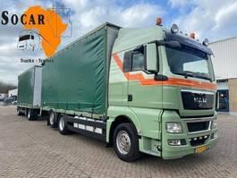 open laadbak vrachtwagen MAN TGX 26 6X2 Combination (+ GS MEPPEL trailer) FOR ->: Pluimvee / Geflügel / Chicken TRANPORT 2011