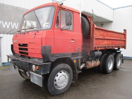 kipper vrachtwagen > 7.5 t Tatra 815 S3 , 3 Way Tipper , Spring Suspension, V10 , 6x6 1987