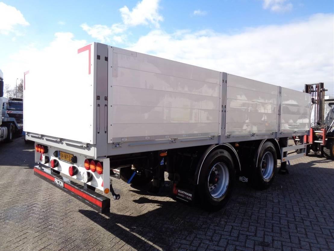 platform vrachtwagen DAF CF 460 Combi Pacton MXD220 + 8X2 + Manual + Euro 6 + Palfinger PK 18500 2017