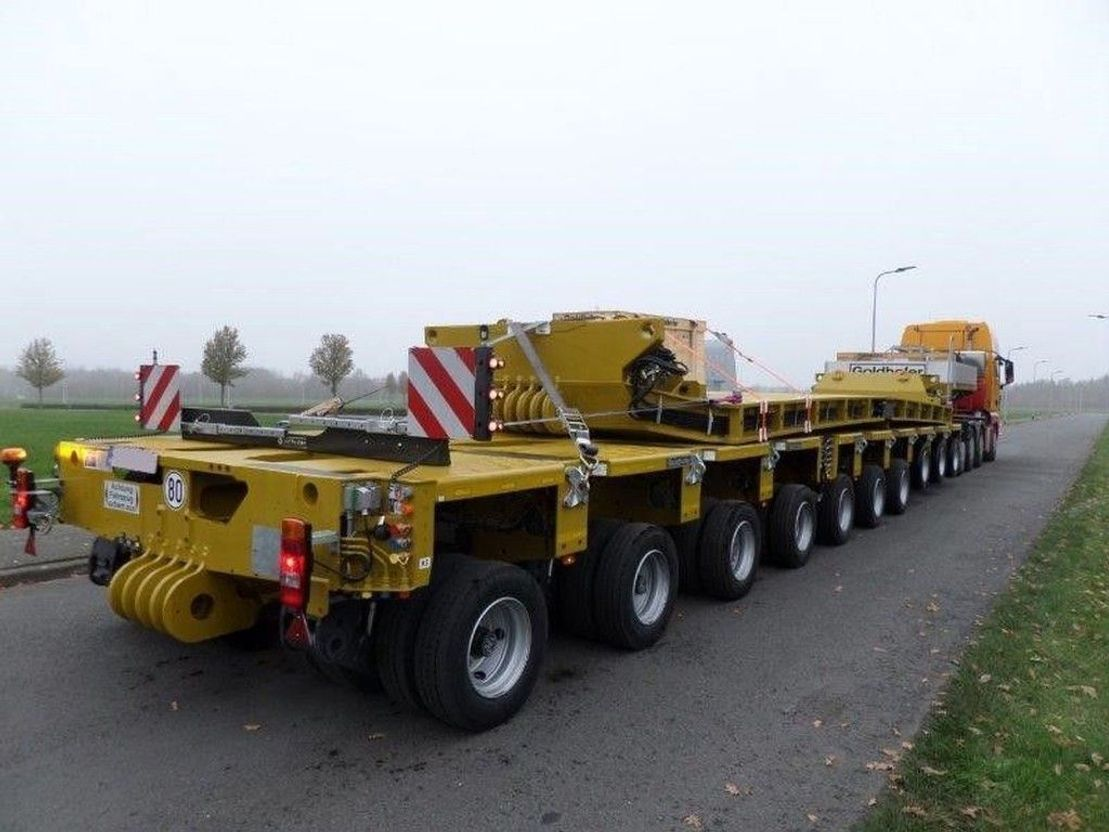 semi dieplader oplegger Goldhofer STHP GOOSENECK + THP SL 4 AND 6 AXLE MODULES + DROPDECK AND RA2 ADAPTOR 2021