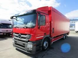 huifzeil vrachtwagen Mercedes-Benz Actros 2541 L Getränkepritsche 8,2m LBW 2 T*LENK 2012