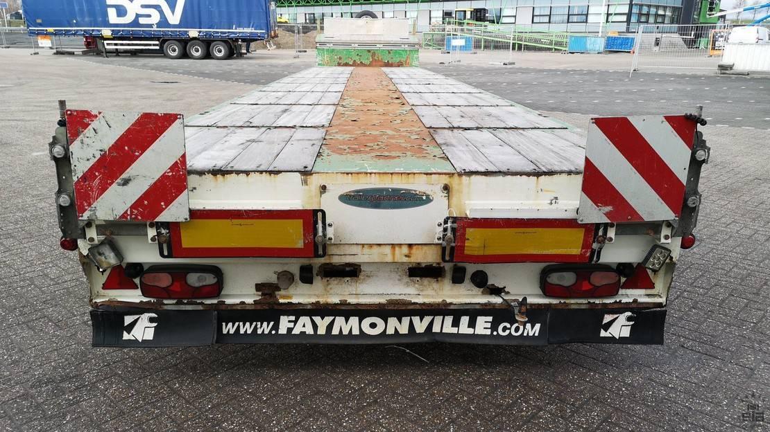 semi dieplader oplegger Faymonville STN-7A 2011