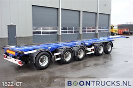 container chassis oplegger D-TEC CT-53-05D   2x20-30-40-45ft COMBITRAILER 2005