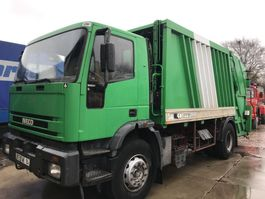 vuilniswagen vrachtwagen Iveco **EUROTECH 190E24-FULL STEEL-FRENCH TRUCK** 1995