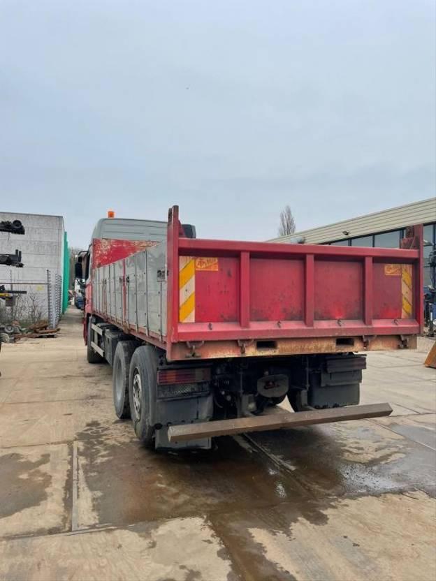 Kipperbak vrachtwagen onderdeel Vossebelt ATM  kipper met ALU kleppen / Borden  17 M3 2009