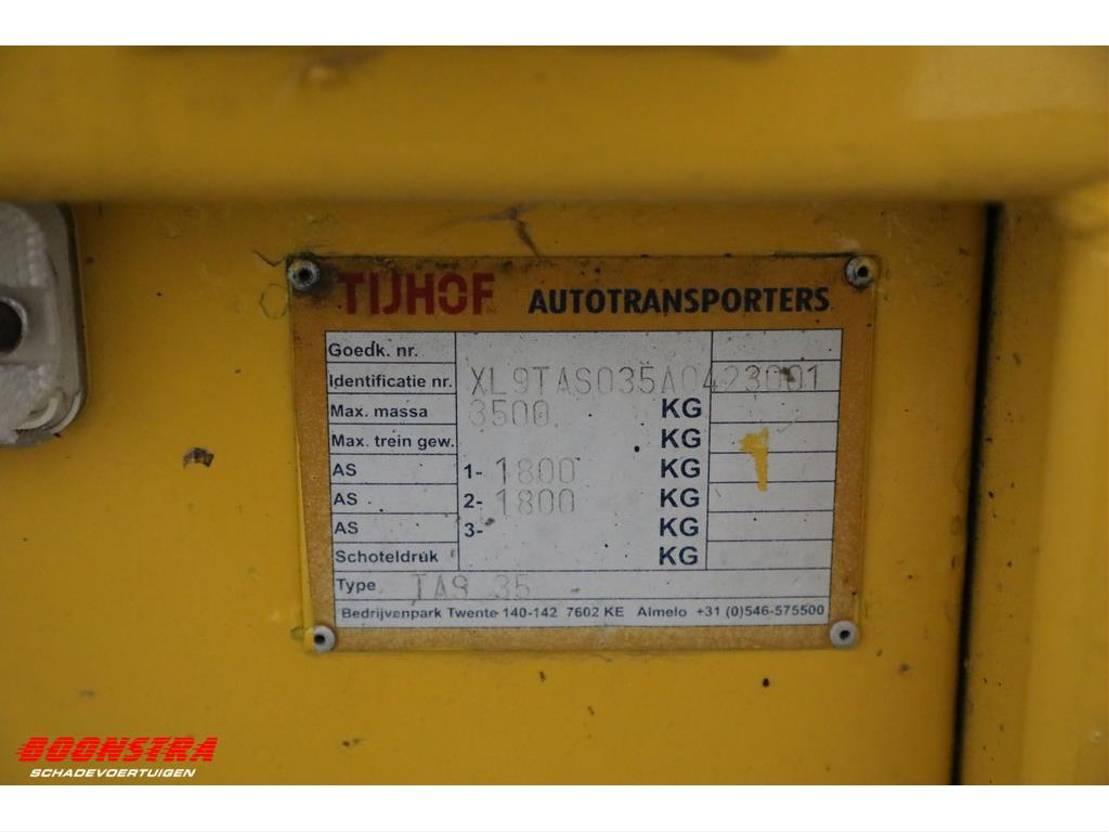 autotransporter aanhangwagen Tijhof TAS 35 Autotransporter 2011