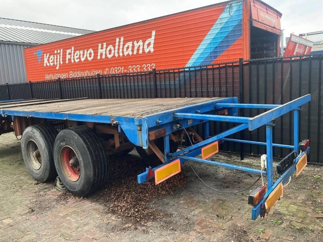 platte aanhanger vrachtwagen Diversen bladvering