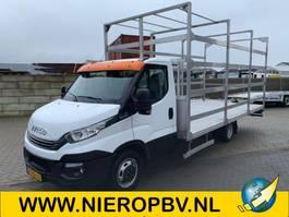 open laadbak bedrijfswagen Iveco daily 40c180 openlaadbak 535cm lang 240cm breed airco automaat 2017