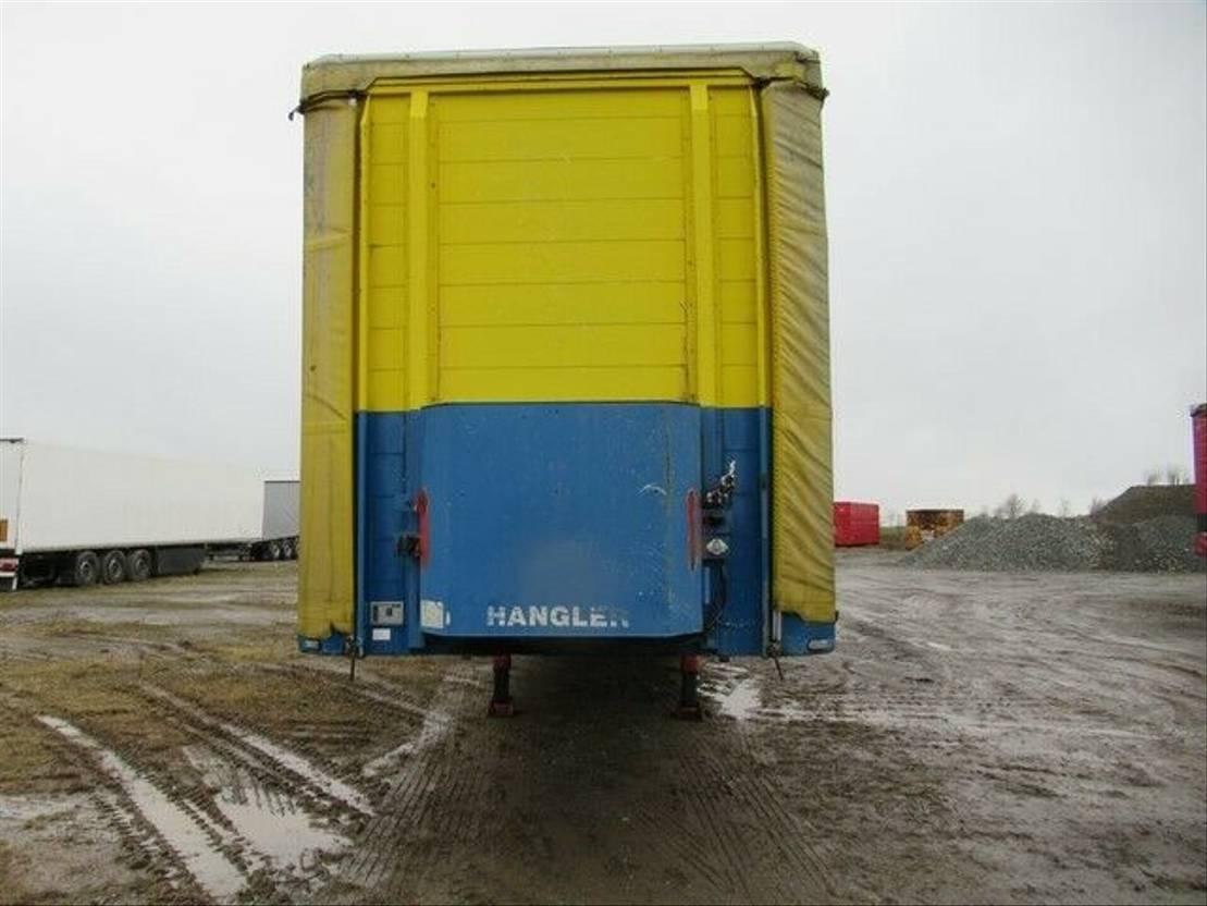 huifzeil oplegger Hangler Gardine Standard, Lift, SAF Scheibe 2004