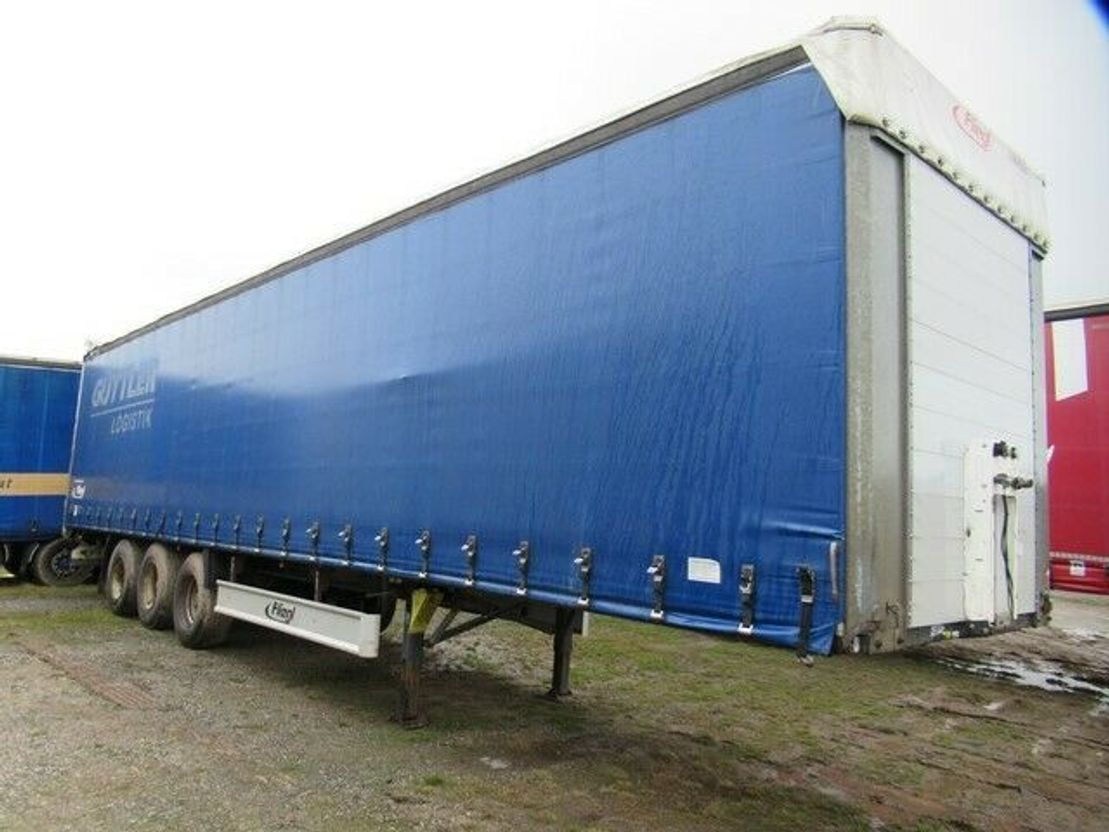 huifzeil oplegger Fliegl Gardine Standard , SDS 350, Portaltüren 2011