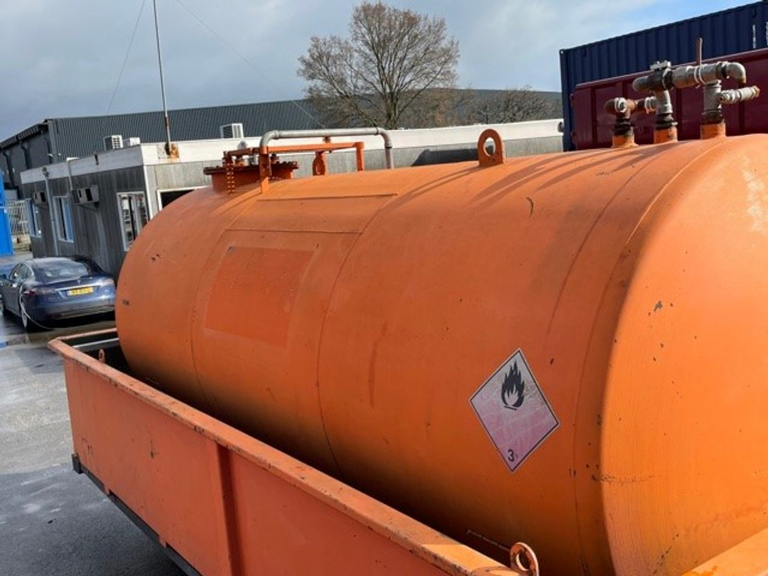 tankcontainer Vernooy Tankcontainer 8593