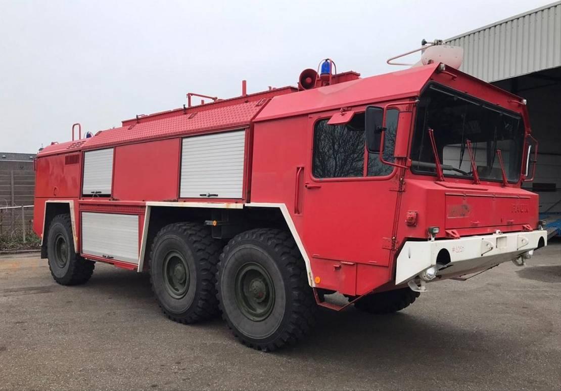 brandweerwagen vrachtwagen Faun crashtender MLF 22.30/45V 6x4 1989