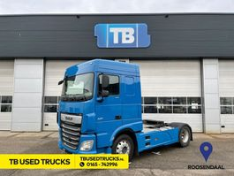standaard trekker DAF XF 450 FT Space Cab Blue PTO Used Skirts 2017