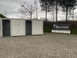 gevaarlijke stoffen container VDL 20FT Gas Hok Gasdepot
