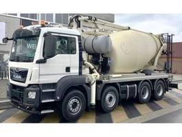 betonpomp vrachtwagen MAN TGS 41.420 8x4 pomp mixer 26 mtr PUMI 2021
