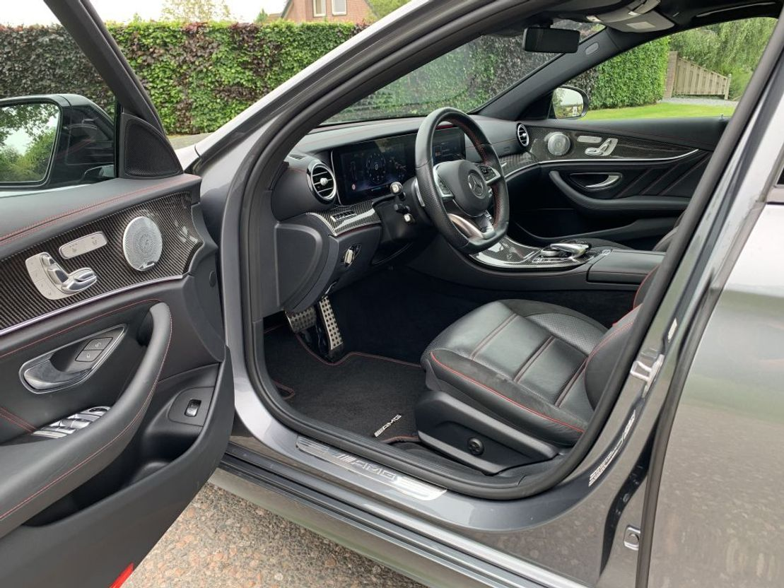 stationwagen Mercedes-Benz E-Klasse 43 AMG 4MATIC, Airmatic, Panodak, Widescreen, Dealeronderh. 2017