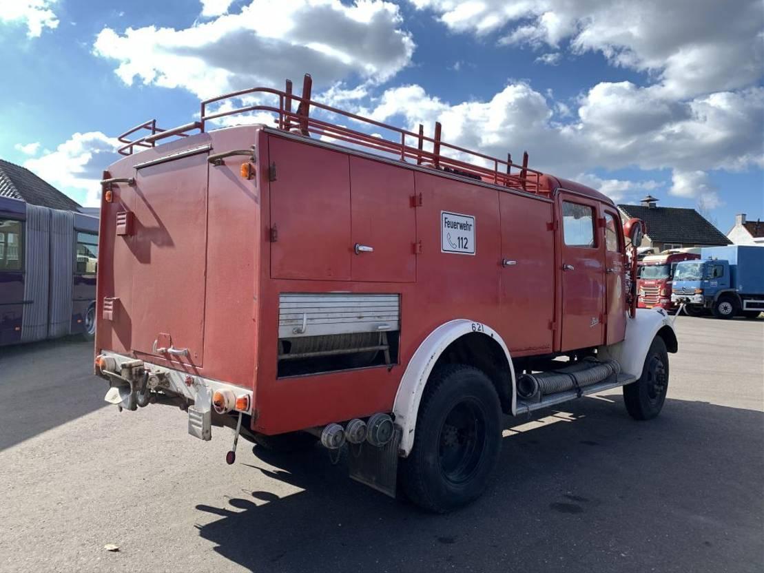 brandweerwagen vrachtwagen Mercedes-Benz LA 3500 Firetruck - 4x4 - 5364 1954