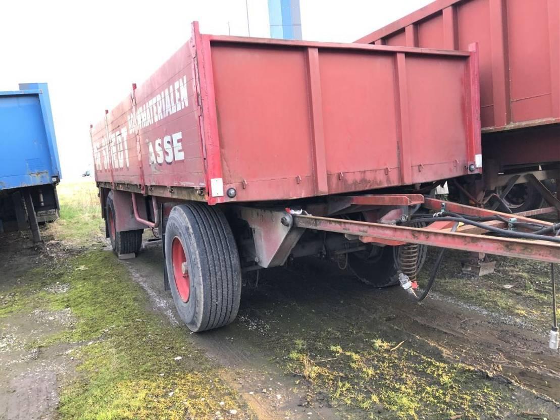 platte aanhanger vrachtwagen Diversen open