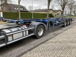 container chassis oplegger Krone SDC 27 NN  NIEUWE APK KEURING vanaf vandaag 1997