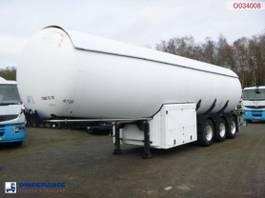 tankoplegger Guhur Gas tank steel 49 m3 + pump/counter 1997