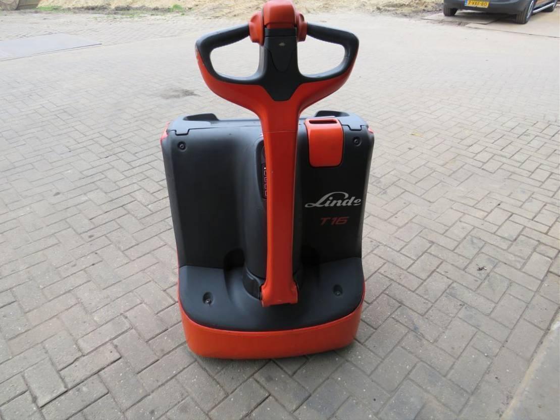 vorkheftruck Linde t16 palletwagen elektrische bj 2014 zeer goed 2014