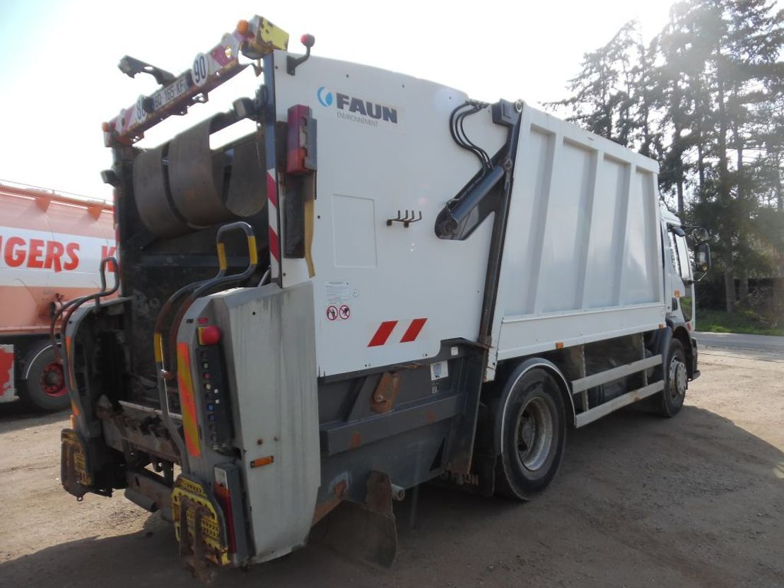 vuilniswagen vrachtwagen Renault Premium 270 vuilkar 2005