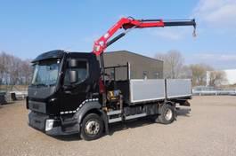 open laadbak vrachtwagen Volvo FL 250.12 - 4X2 FL 250.12 - 4x2 - EURO 6 + HMF 6 T/M KRAAN - OPEN LAADBAK 4,20 M