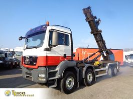 containersysteem vrachtwagen MAN TGS 35.440 Manual + PTO + m-tec Hook system + 8x4 2009