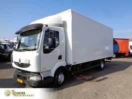 bakwagen vrachtwagen Renault Midlum 220 DXI + Manual + Euro 5 + Dhollandia Lift 2013