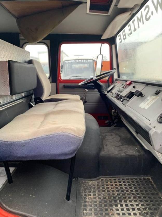 brandweerwagen vrachtwagen DAF 1100 1987