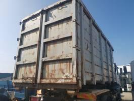 open top zeecontainer Occ Afzetcontainer 6.10m