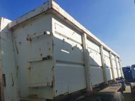 open top zeecontainer Occ Afzetcontainer 6m