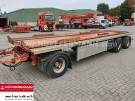 container chassis aanhanger Huffermann 3-achs Muldenanhänger / HMA 24.76 LT 2002
