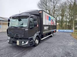 bakwagen vrachtwagen Renault D12- euro 6- koffer en laadklep dhollandia comfort cabine 2014