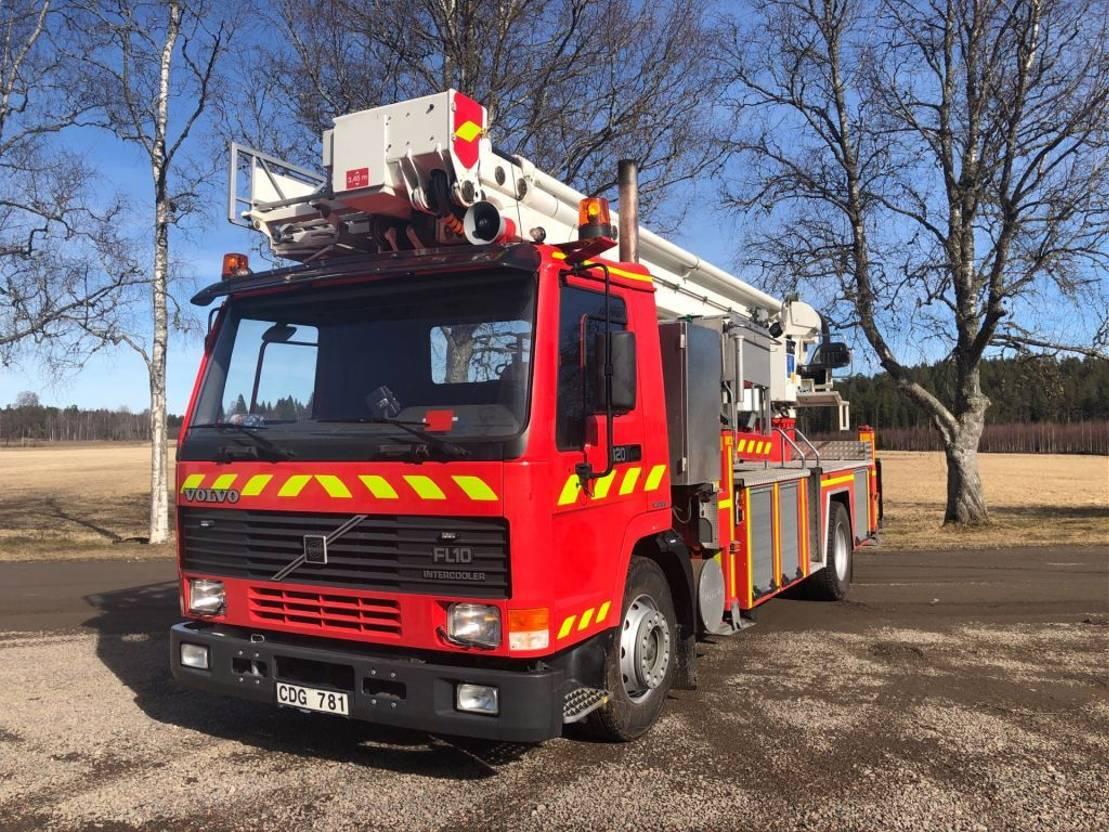 brandweerwagen vrachtwagen Volvo FL10