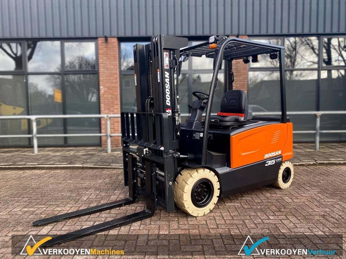 vorkheftruck Doosan B35X-7 Electric Side-shift + Forkpositioner 2021