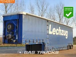 dieplader oplegger Meusburger MPG-2 2x Hydr. Lenkachse 2008
