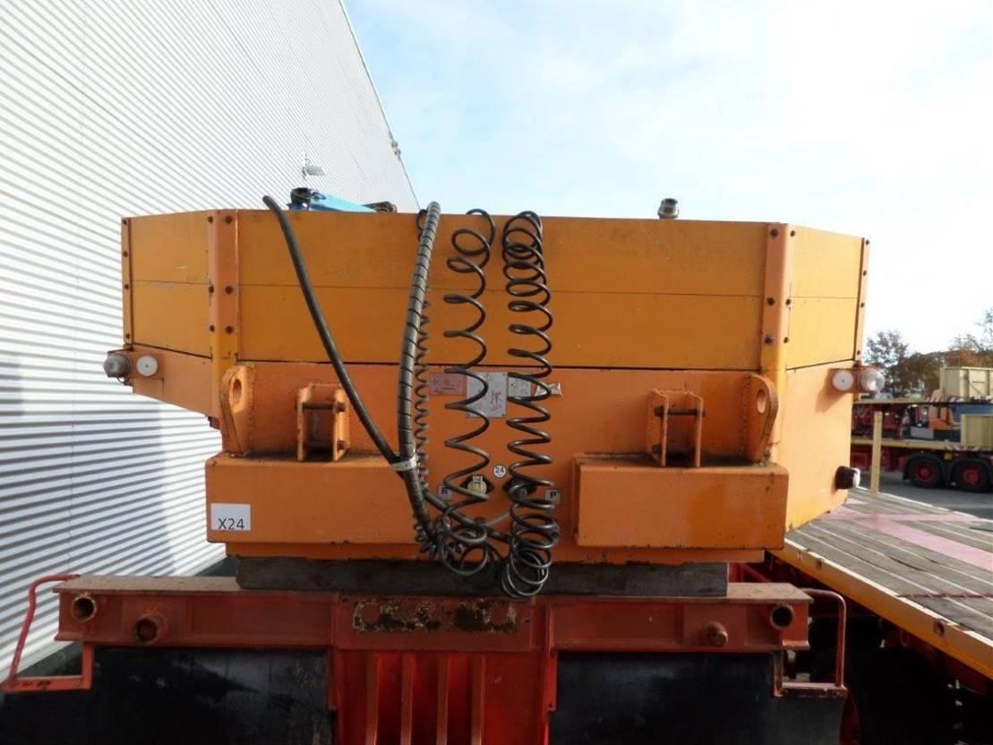 semi dieplader oplegger Goldhofer THP L Gooseneck + Vessel Bed + Drawbar Set