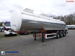 tankoplegger BSL T Chemical tank inox 30 m3 / 1 comp 1997