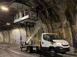 autohoogwerker vrachtwagen Comet Solar 15 New, 15m Working Height, 4m Reach, 400kg 2021