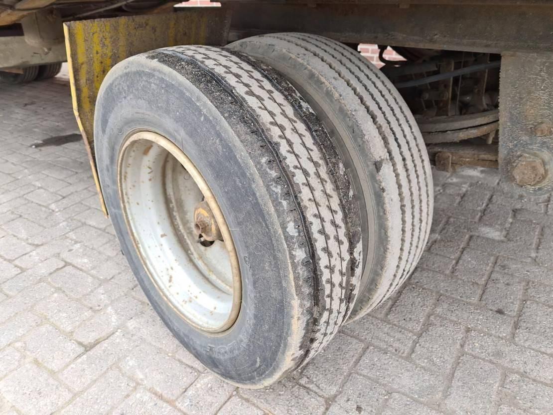 platte aanhanger vrachtwagen Diversen Matriaal wagen
