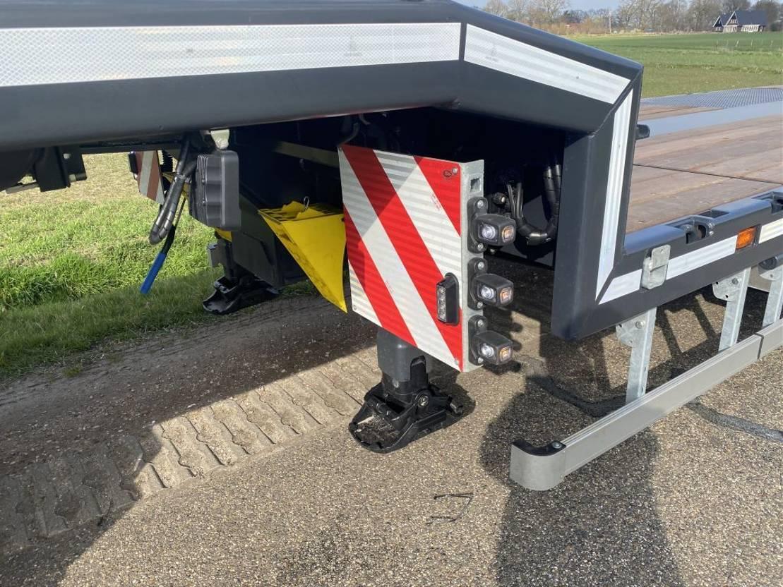 semi dieplader oplegger Vlastuin VTR  18-27   EXTENSION   HYDROLIC RAMPS   2021