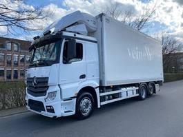 koelwagen vrachtwagen Mercedes-Benz Actros 2551 6x2 Thermo King T-1000 R 2015