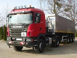 overige vrachtwagens Scania G 440 4x4 EURO5 SZM + Kipper Auflieger Mega 2012