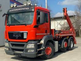 containersysteem vrachtwagen MAN TGS 26.400 6x2 Meiller Lift/Lenkachse Euro5 2013