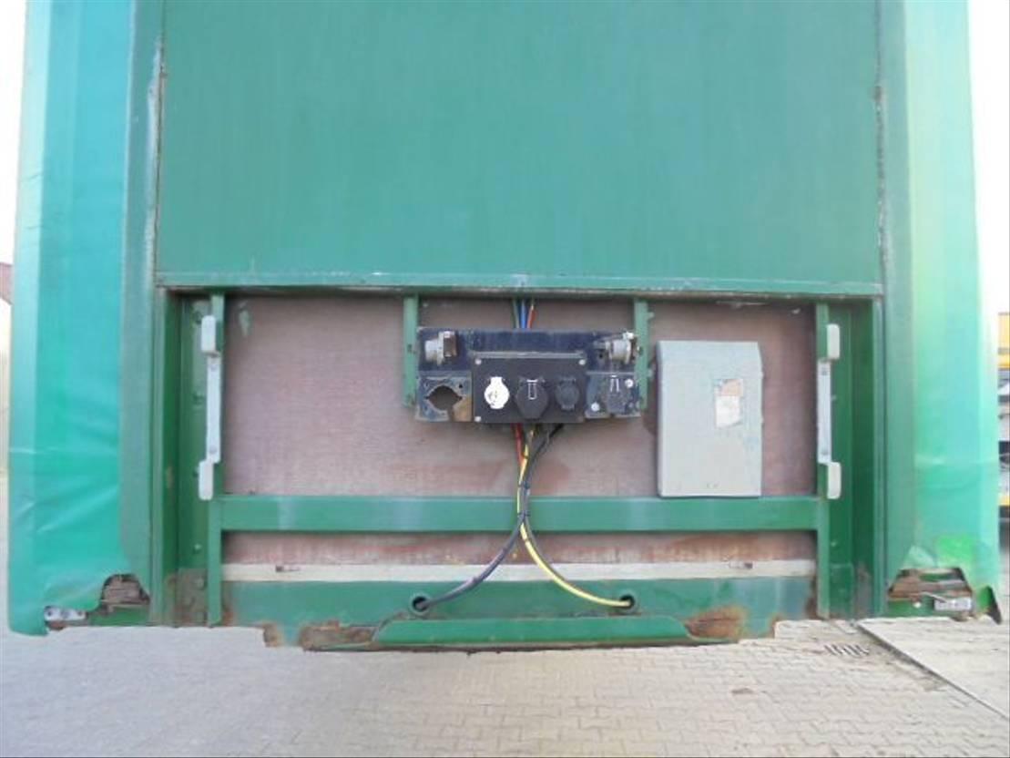 semi dieplader oplegger Pacton Jumbo - Semie – Schuifdak – Schuifzeil – Hefdak – deuren 2003