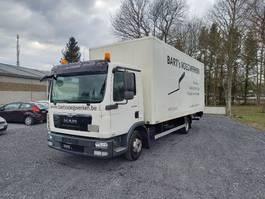 bakwagen vrachtwagen MAN TGL 8 taillift/hayon - euro 5 - very good tyres