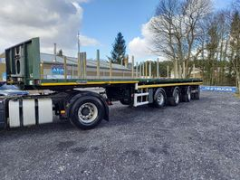 platte oplegger Nooteboom 4 ASSEN BALLAST TRAILER - 73 000kg