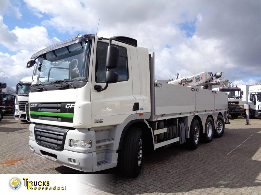 platform vrachtwagen DAF CF 85.460 + Euro 5 + JKB Kennis Type 20.000 Crane + Pto 2013