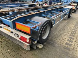 container chassis aanhanger Van Hool R-214   Container   Abrollkipper   1993